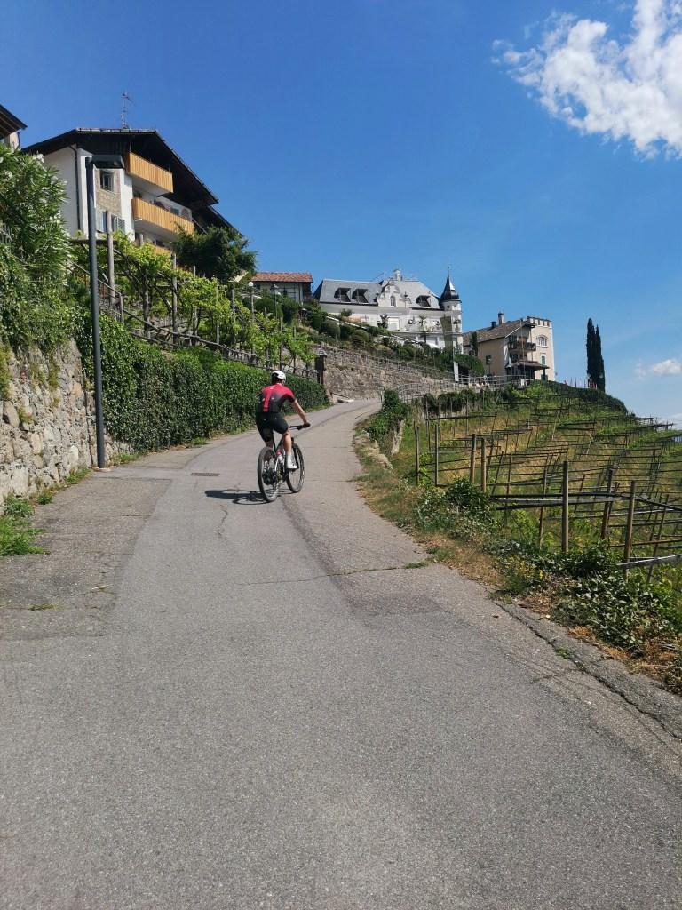 Dorftirol Radfahrer