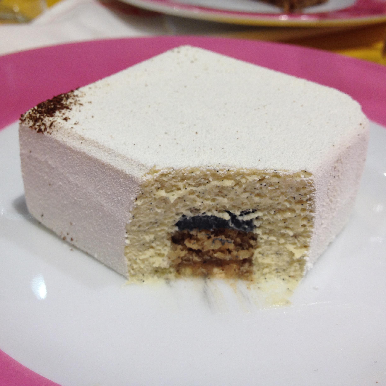 """""""Infiniment vanille"""" (vanilla cake)"""