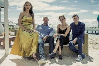 "Cast of the Woody Allen's movie ""Café society"""