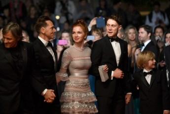 "Viggo Mortensen, Matt Ross, Annalise Basso, George MacKay and Charlie Shotwell for the film ""Captain Fantastic"""