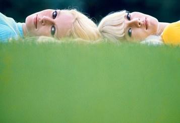 Brigitte Bardot and Sylvie Vartan