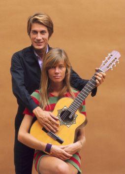 Jacques Dutronc and Françoise Hardy