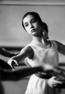Patricia Whittle, portrait of this young dancer, Royal Ballet, London, 1962