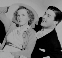 Jean Arthur and Ray Milland 1937