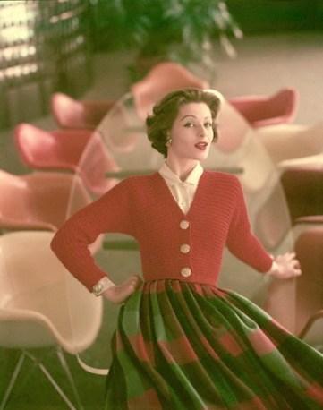 Model in Greta Paltry, 1956