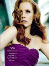 Jessica Chastain for Instyle Uk 2011