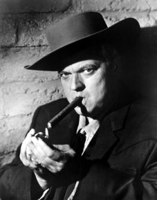 Orson Welles as Police captain Hank Quinlan