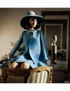 Benedetta Barzini for Vogue in 1968