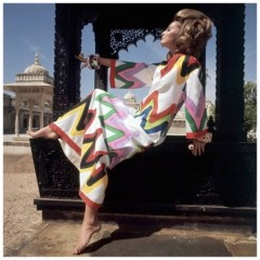model-samantha-jones-wearing-a-colorful-zigzag-print-caftan-by-livio-de-simone-circa-june-1967-india-photo-henry-clarke