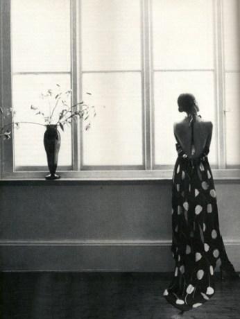 Fashion by the designer John Bates for Vogue Feb 1976