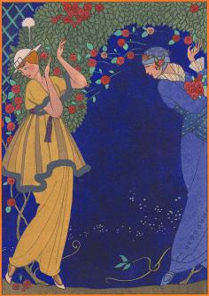 Roses dans la nuit 1914