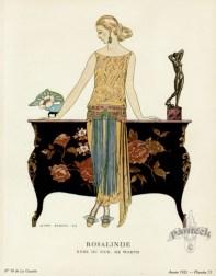 Rosalinde, robe du soir de Worth