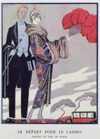Leaving the Casino 1923