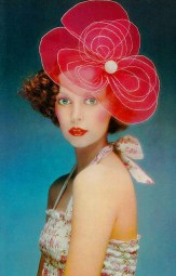 Model Mouche Vogue UK May 1972
