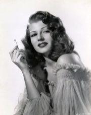 Rita Hayworth for Gilda in 1946