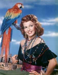Rita Hayworth for The loves of Carmen in 1948