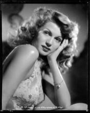 Rita Hayworth for Cover girl in 1944
