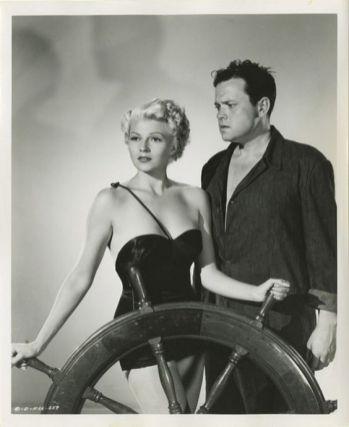 Rita Hayworth and Orson Welles in 1947