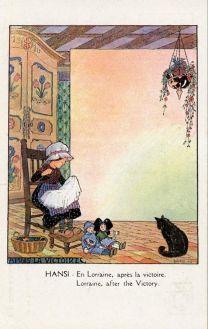 en-lorraine-apres-la-victoire-propaganda-postcard-by-hansi