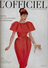 model-wearing-a-dress-by-jean-patou-on-the-cover-of-lofficiel-april-1957