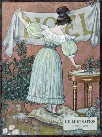 Couverture du numéro de Noël de L'Illustration paru le 21 décembre 1901.