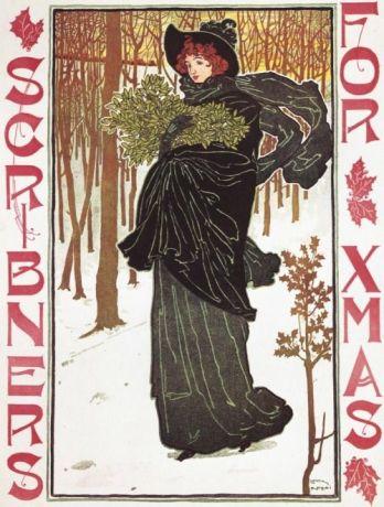 scribners-magazine-christmas-illustration-circa-1895-by-louis-rhead