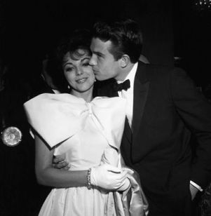 """Golden Globe Awards"" Joan Collins, Warren Beatty 1961 © 1978 David Sutton"
