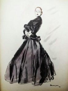maggy-rouff-in-album-de-la-mode-du-figaro-intimite-illustration-by-gruau-winter-1946