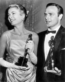 Grace Kelly and Marlon Brando