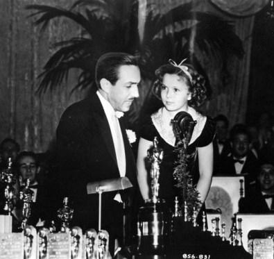 Shirley Temple and Walt Disney