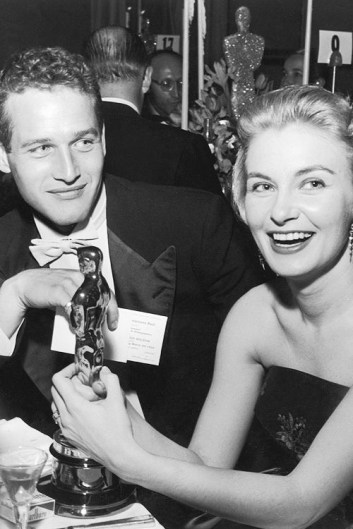 Paul Newman and his wife