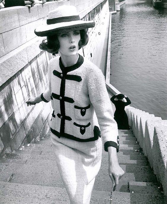 Chanel slim suit