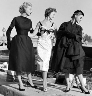 Dior designs in 1953