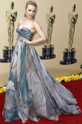 Rachel McAdams wearing Elie Saab in 2010