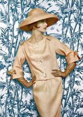 Model wearing Jean Patou 1961