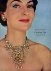 Francis Winter for Dior necklace 1955