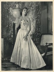 Carven evening dress 1952