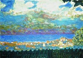 """""""Ciel d'orage sur Cannes"""" by Pierre Bonnard"""