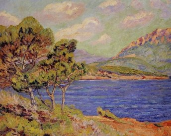 La baie d'Agay by Armand Guillaumin