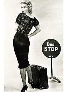 A pencil skirt worn by Marilyn Monroe