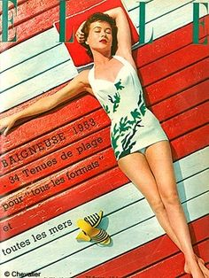 Fifties swimwear