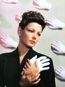 Gene Tierney by Horst