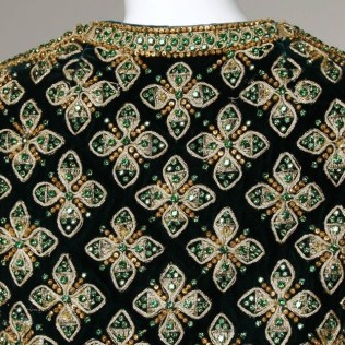 Embellished jacket by Marie McCarthy for Larry Aldrich