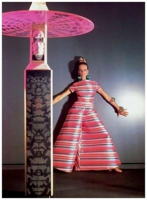 Veruschka, Vogue November 1966