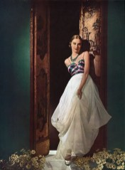 Joan Fontaine in Charles James, Vogue June 1937
