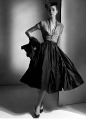 Suzy Parker in Dior 1952