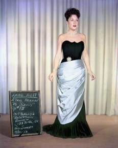 "Ethel Merman in ""Call me Madam"" 1953"