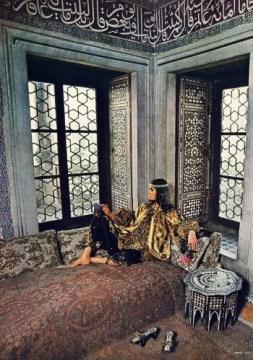 Bill Gibb ensemble, shot by Barry Lategan for Vogue 1971