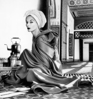 """""""Woman in Palace"""" by Irving Penn in Morocco, 1951"""