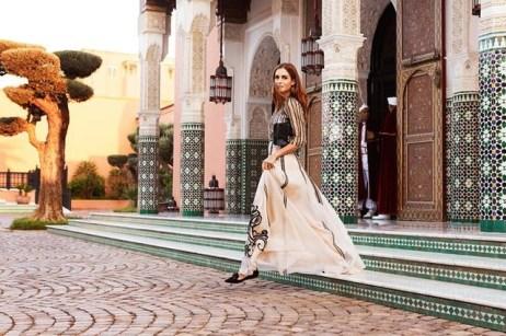 Jimmy Choo, La Mamounia in Marrakech
